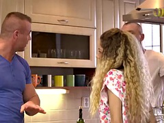 daddy4k. old daddy has a lot of fun with teen girl monique