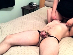 Kinky amateur wife puts her great oral talents into action