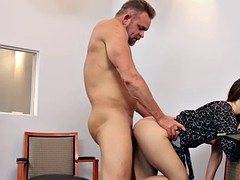 Dads cock to fuck bambi brooks shaved pussy on top