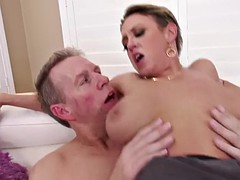 healthy milf dee williams cums hard during hardcore anal