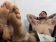 Feet fetish gay And wow, did he ever adore them!