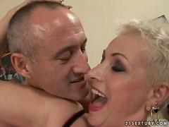 Grandpa fucks old slut pretty hard