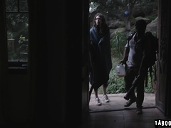 Dick bang Elena for food while Jake wait outside