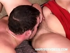 Joclyn Dishes Out Her Natural Hairy Cunt