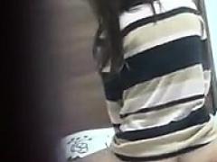 Hidden cam white guy asian girl
