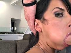 sophia bella gets filmed on mobile phone while sucking his cock