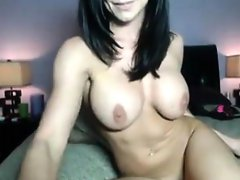 Sexy MILF pussy tease on cam