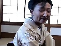 Mature Japanese wife gets her tight hairy cunt fucked hard