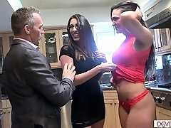 Milf joins husband and mistress in 3some