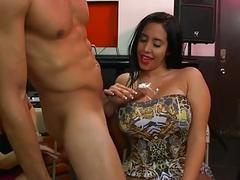 Darlings are deligthing chap with moist oral sex