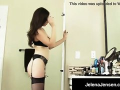Penthouse Pet Jelena Jensen Drains Her Edible Cunny!
