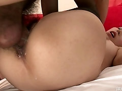 Pleasing cleaning woman Rino Asuka featuring hot creampie