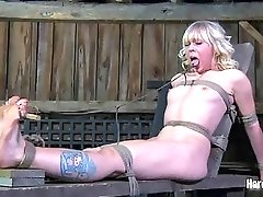 Proud blonde can really take all kinds of hard humiliation