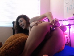 Filthy CD Solo Webcam Toying