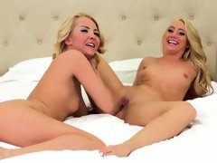 Aaliyah and AJ Cannot Wait To Make Their Pussies Cum