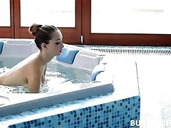 Busty Buffy in Jacuzzi