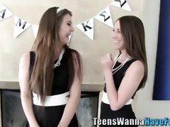 Sorority teenagers fondling vaginas