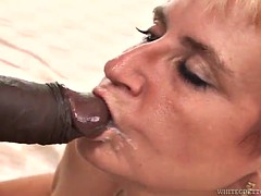 horny ladies get very messy facials in compilation video