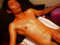 Smooth Asian Boy In Authentic Sensual Thai Massage