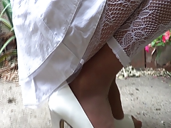 Heels & nylon